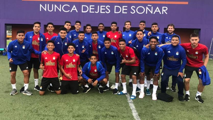 El equipo de reserva de Sporting Cristal realizará gira por Ecuador