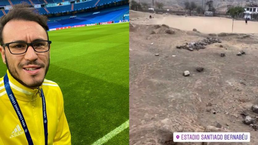 Gustavo Dulanto cumplirá 9 meses después su gran sueño: jugar en el Santiago Bernabéu