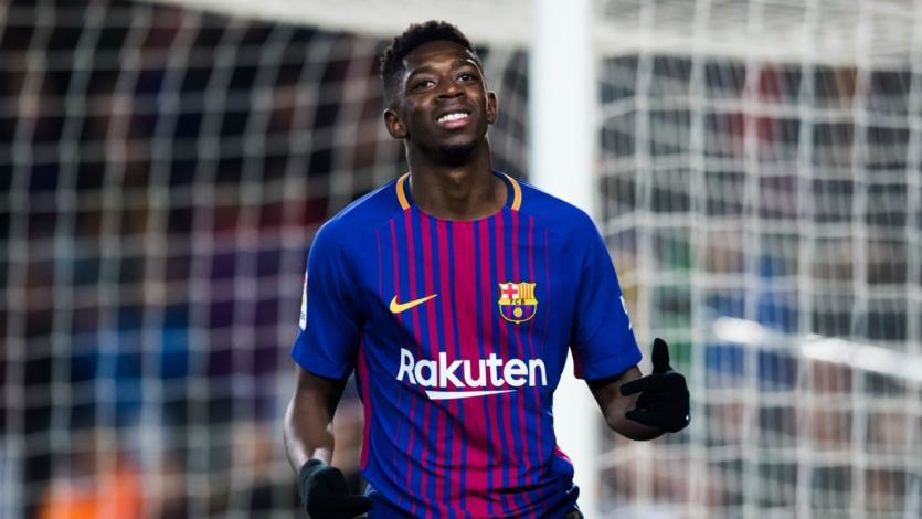 Barcelona no piensa en vender a Dembélé