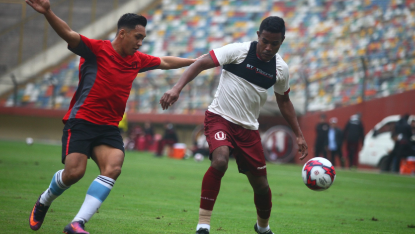 Universitario igualó ante Deportivo Coopsol en partido amistoso