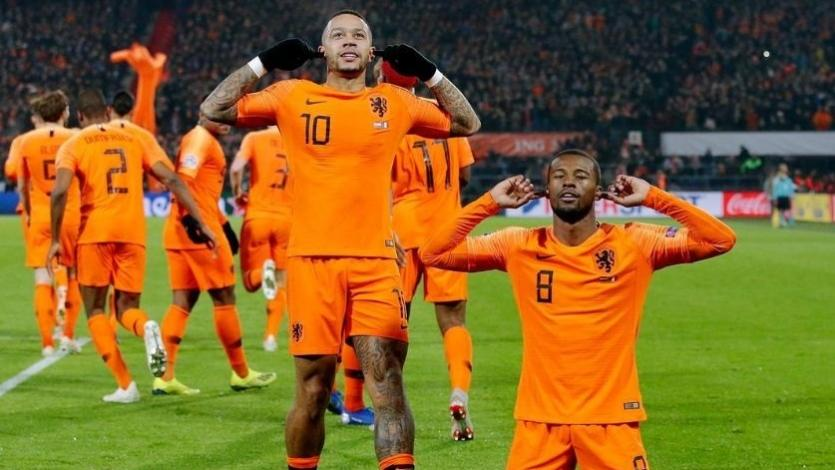Holanda superó 2-0 a Francia por la Liga de Naciones
