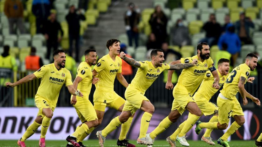 Europa League: Villarreal se coronó campeón tras vencer en penales al Manchester United