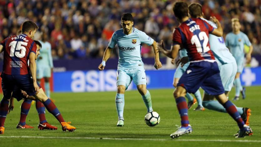 La Liga: Barcelona no sostuvo el invicto y cayó ante el Levante