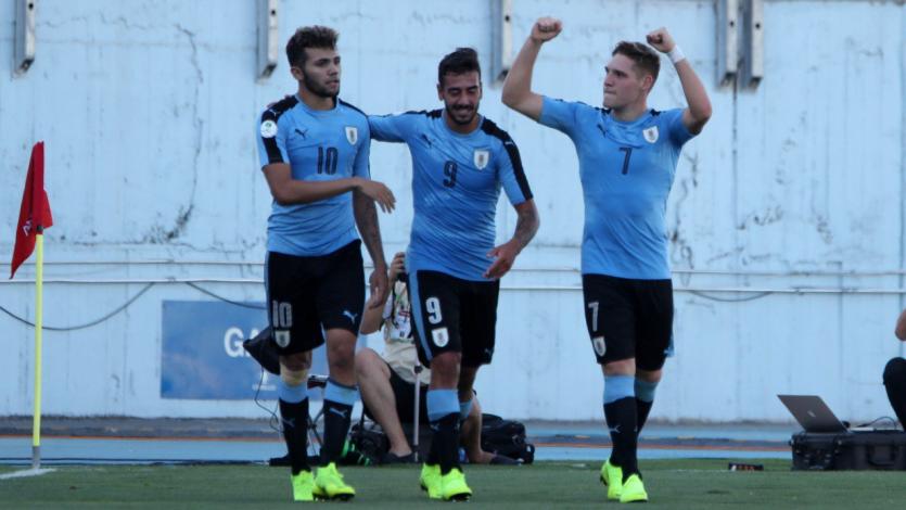 Sudamericano Sub-20: Uruguay supera a Brasil 3-2 sobre el final