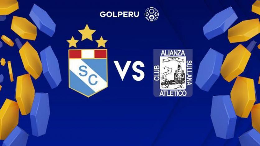 Alianza Atlético se juega la vida en casa de Sporting Cristal