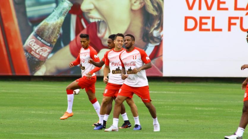 La selección peruana entrenó en la Videna y presentó novedades