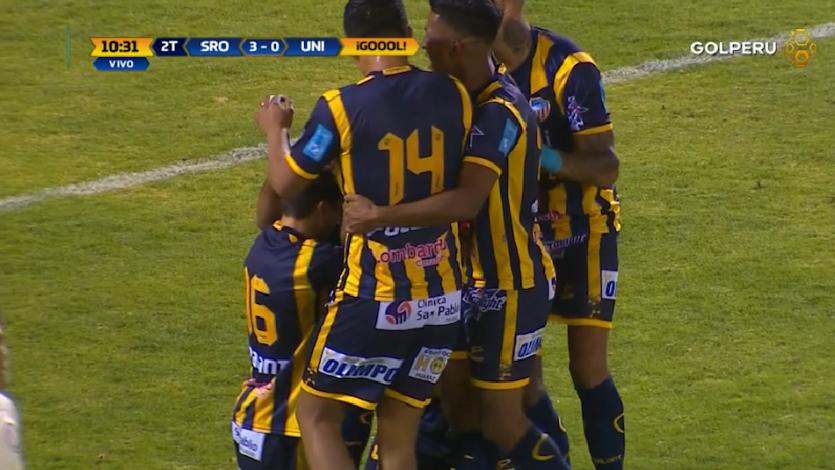 Sport Rosario vapuleó a Universitario y se convirtió el líder momentáneo del Torneo Apertura