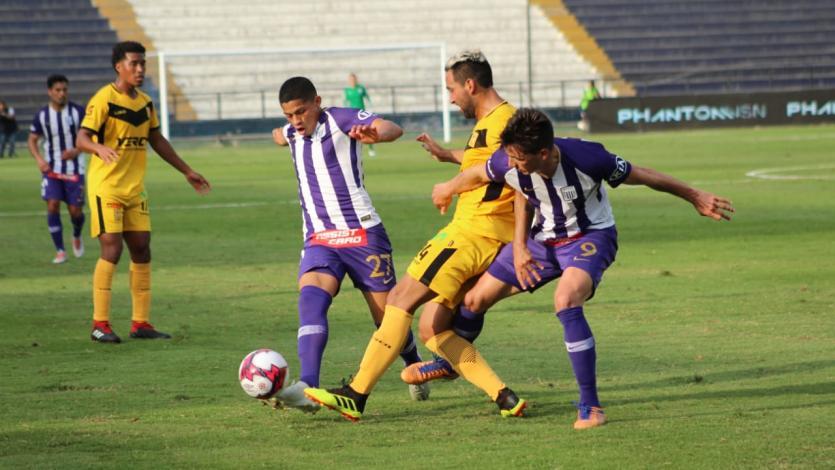 Alianza Lima se impuso en Matute