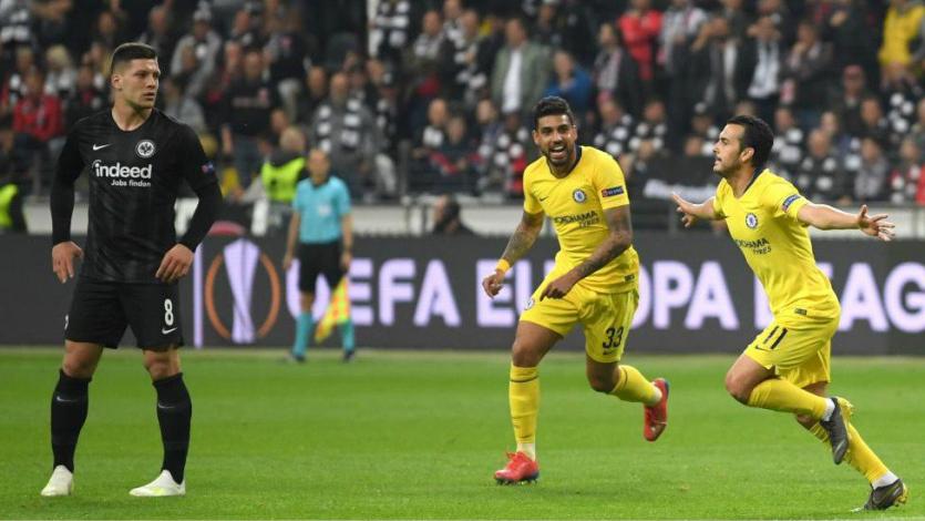 Europa League: Eintracht Frankfurt y Chelsea igualaron en la ida de las semifinales (1-1)