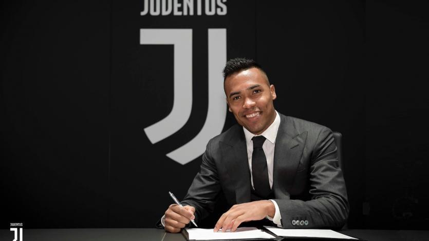 Alex Sandro renueva con la Juventus hasta el 2023
