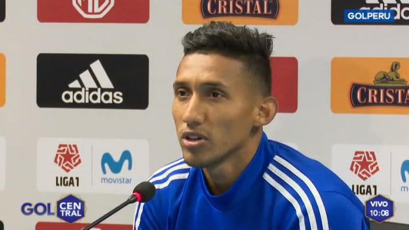 Christofer Gonzales sobre el partido ante Alianza Lima: