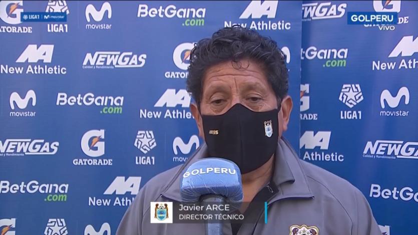 "Javier Arce, técnico de Binacional: ""La derrota ante River nos golpeó"" (VIDEO)"