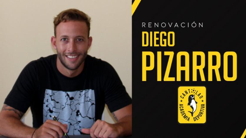 Diego Pizarro jugará su cuarta temporada con Cantolao