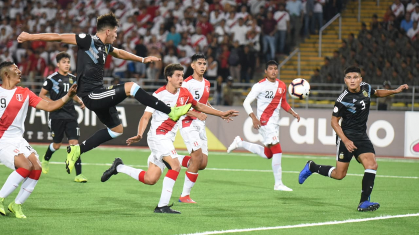 Sudamericano Sub 17: Perú empató sin goles ante Argentina