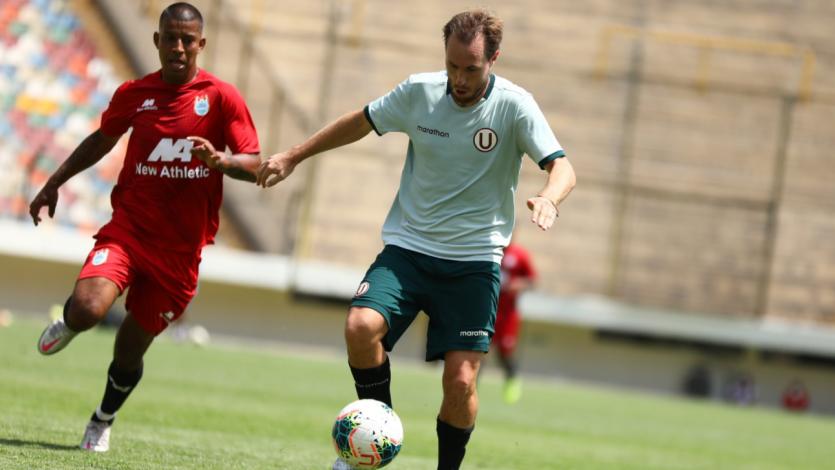 Universitario 3-2 Deportivo Binacional: mira en exclusiva los goles del partido de práctica (VIDEO)