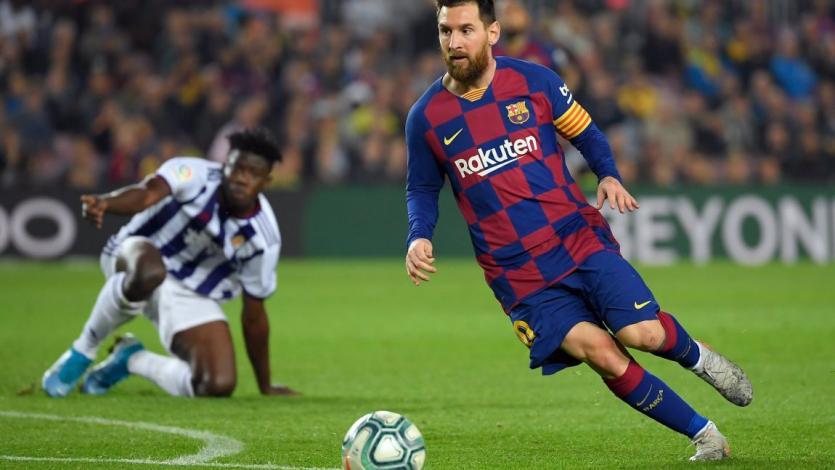 La Liga: Barcelona goleó al Valladolid de la mano de Messi y volvió a ser líder (VIDEO)