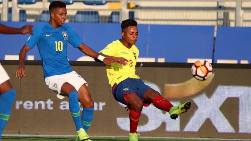 Sudamericano Sub 20: Ecuador y Brasil no pasan del empate