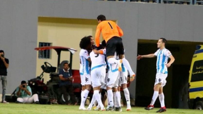 Cristian Benavente anotó su primer gol en Egipto