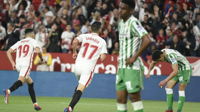 Sevilla se lleva el derbi andaluz ante el Betis