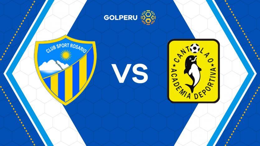 Sport Rosario y Cantolao buscarán sonreír en Huaraz