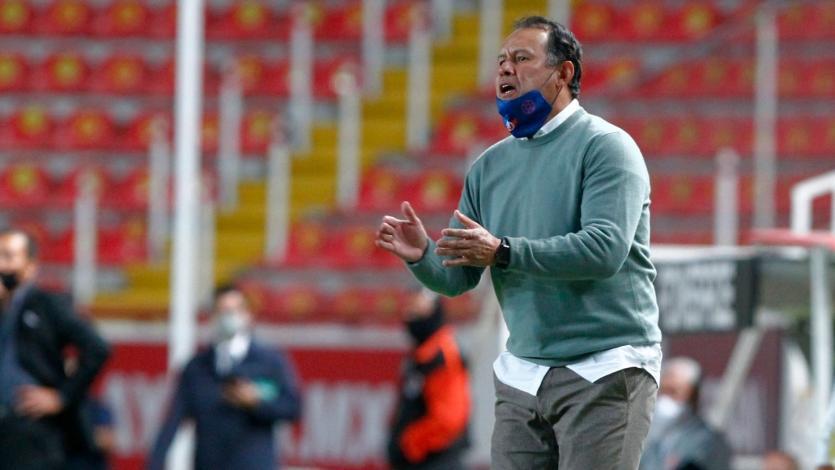 Juan Reynoso consiguió su tercera victoria consecutiva al mando de Cruz Azul