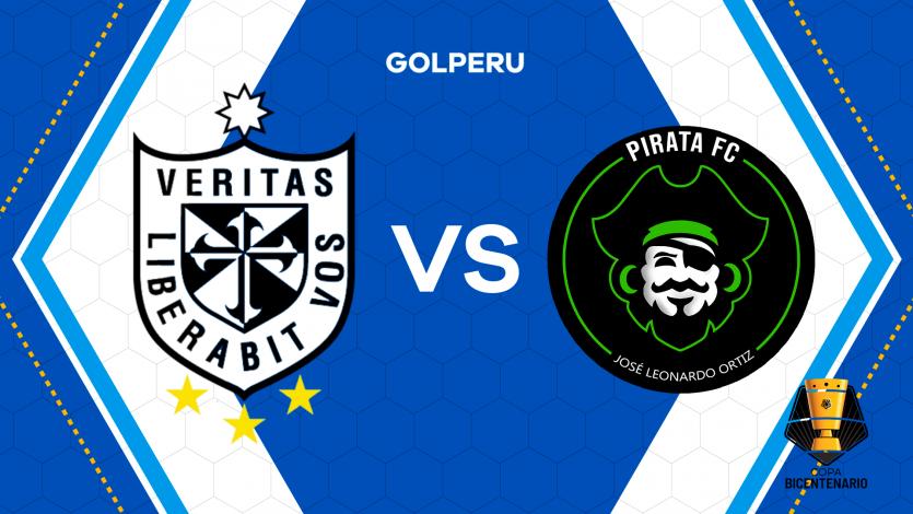 San Martín y Pirata FC abren la tercera jornada de la Copa Bicentenario