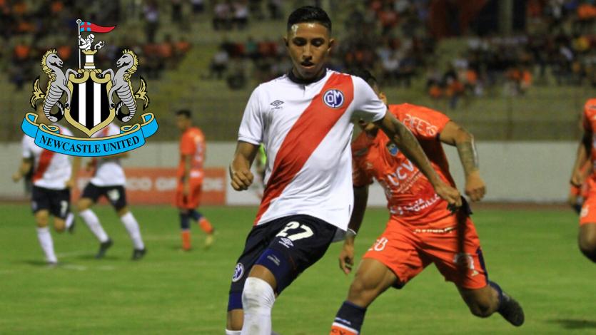 Newcastle prepara un plan para el fichaje de Rodrigo Vilca