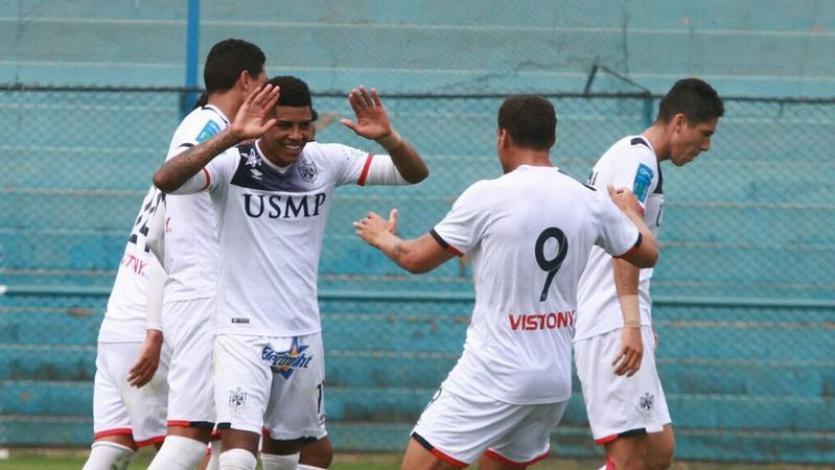 Universidad San Martín derrotó por 3-2 a Comerciantes Unidos