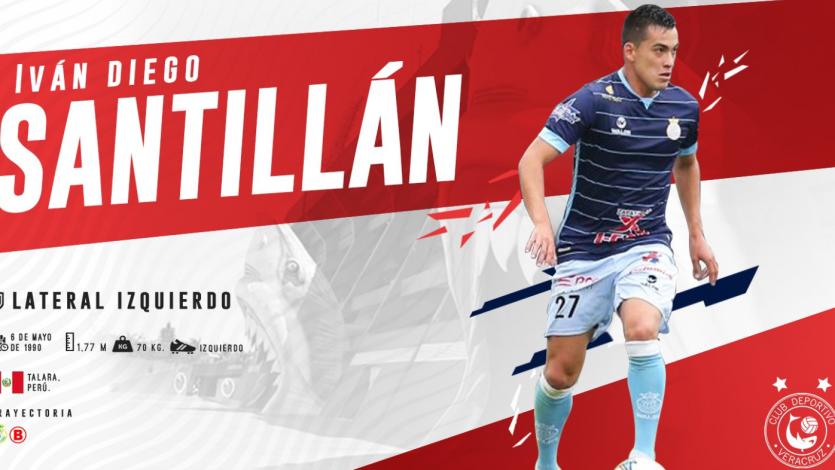 OFICIAL: Iván Santillán es nuevo jugador de Veracruz