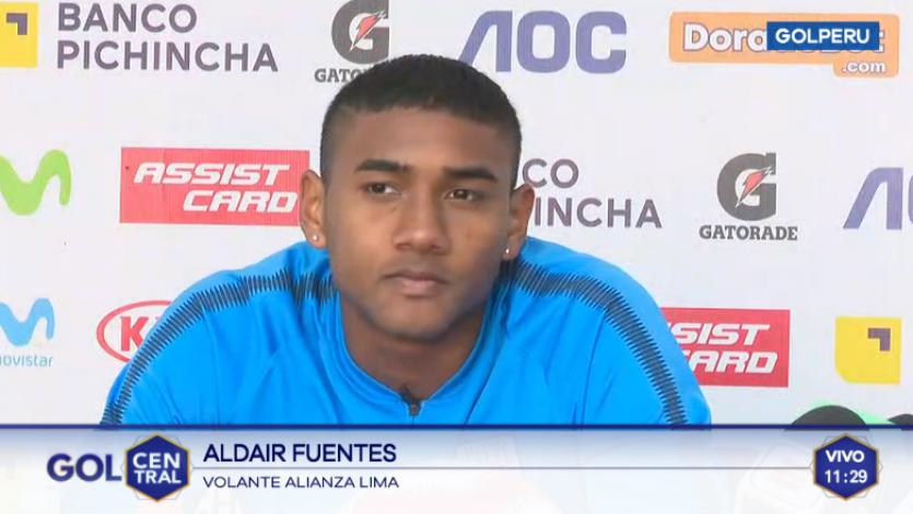 Aldair Fuentes: