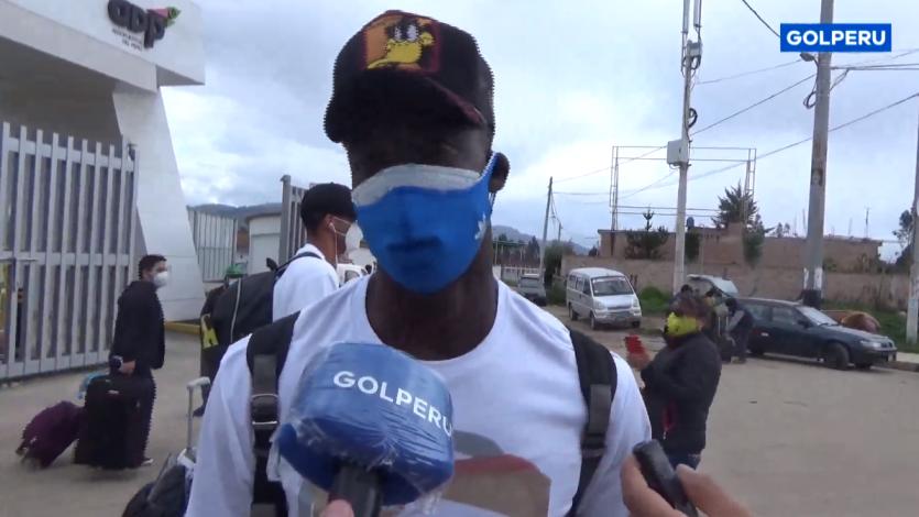 "Hervé Kambou: ""Vengo a salir campeón y a pelear la Copa Sudamericana"" (VIDEO)"
