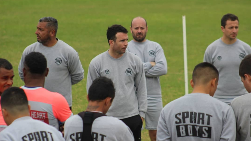 Sport Boys tuvo su primer entrenamiento bajo las órdenes de Manuel Fernández