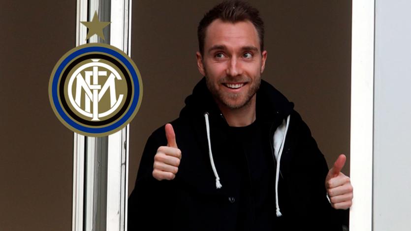 Christian Eriksen ya está en Milán para firmar por el Inter