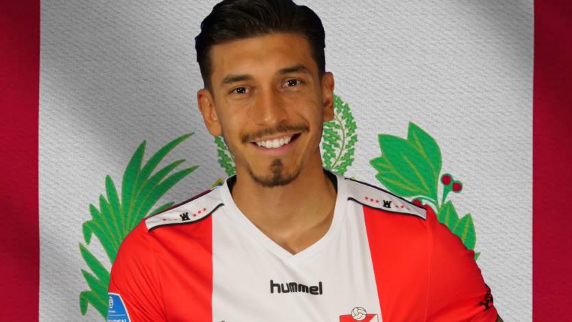 FC Emmen sumó a su tercer peruano al oficializar el fichaje de Jean Pierre Rhyner