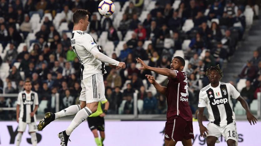 Cristiano Ronaldo salva a la Juventus en el derbi de Turín