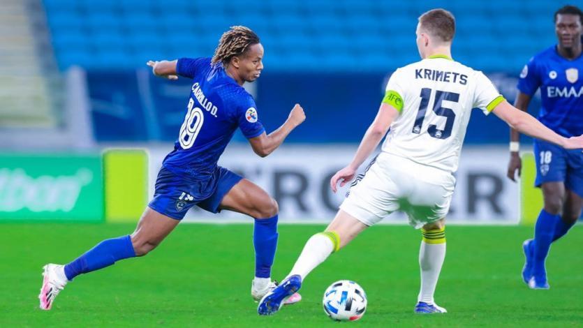 Champions League de Asia: con André Carrillo, Al Hilal venció por 2-1 al Pakhtakor de Uzbekistán