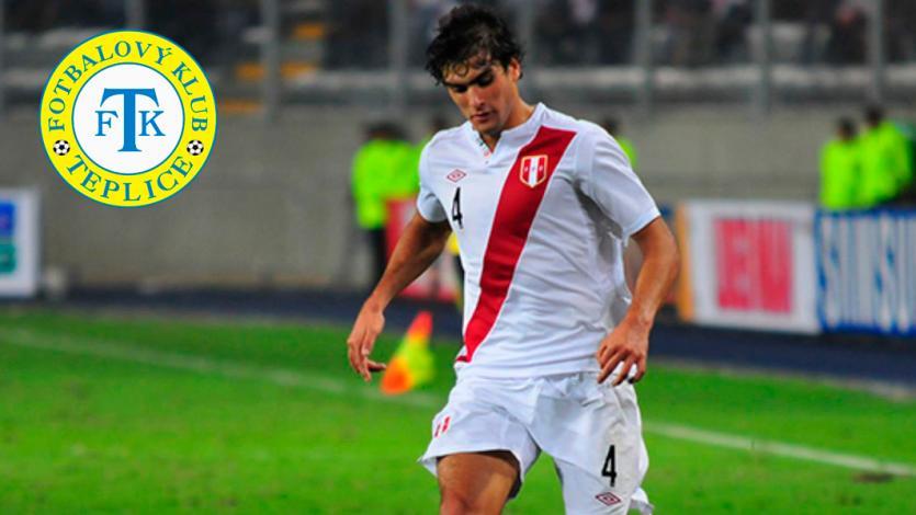 Álvaro Ampuero muy cerca de firmar contrato con el FK Teplice de la República Checa