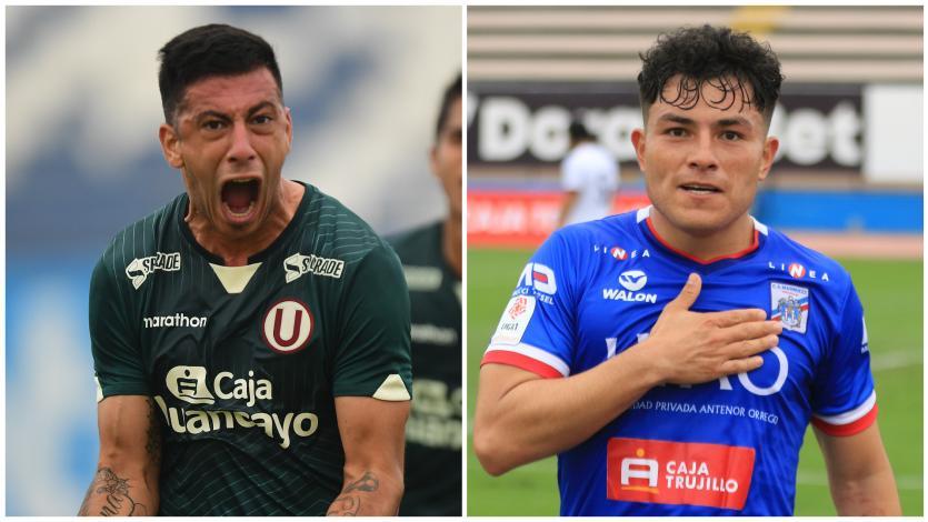 Liga1 Betsson: así alinearían Universitario de Deportes y Carlos A. Mannucci esta tarde en el estadio Miguel Grau