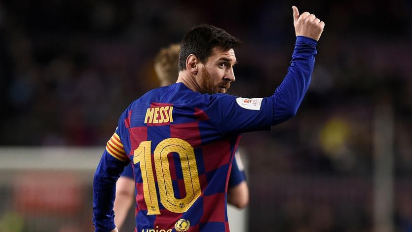 Con Lionel Messi a la cabeza, FIFA hace campaña contra el coronavirus
