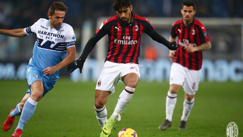 Milan se lleva un empate del Olímpico ante la Lazio y sueña con la final de la Copa italia