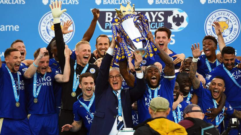 Leicester City: se cumplen 4 años del histórico título de la Premier League