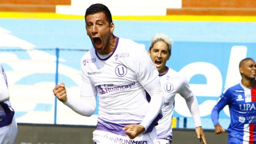 Universitario: hijo de Federico Alonso estalló de euforia tras su gol ante Carlos A. Mannucci (VIDEO)