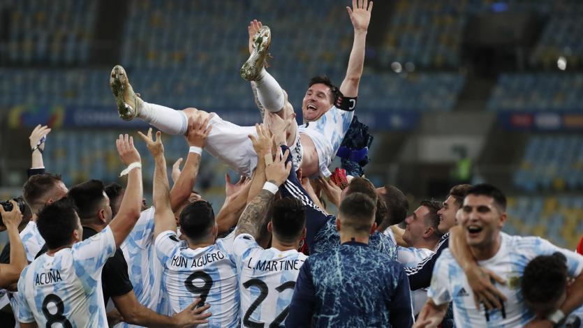 Copa América: Argentina superó 1-0 a Brasil y se consagró como campeón tras 28 años