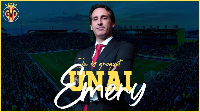 LaLiga: Unai Emery fue oficializado como nuevo técnico del Villarreal