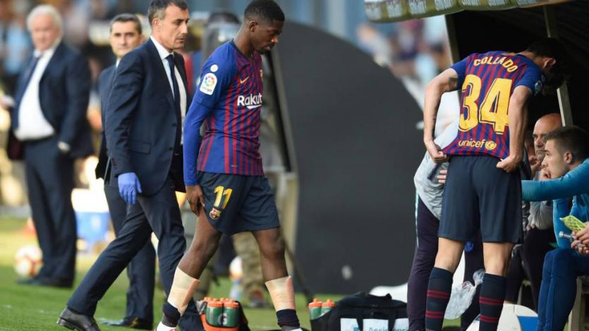 Ousmane Dembélé cae lesionado y estaría ausente por cinco semanas
