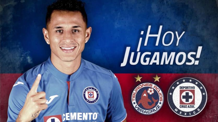 Veracruz vs. Cruz Azul: Iván Santillán cara a cara con Yoshimar Yotún