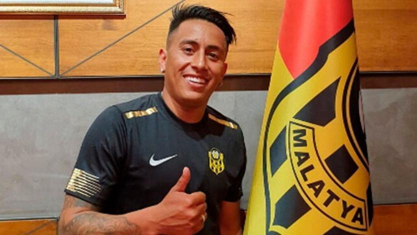 Christian Cueva firmará por dos temporadas más con el Yeni Malatyaspor