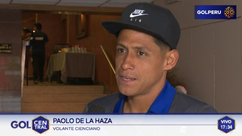 Paolo De la Haza: