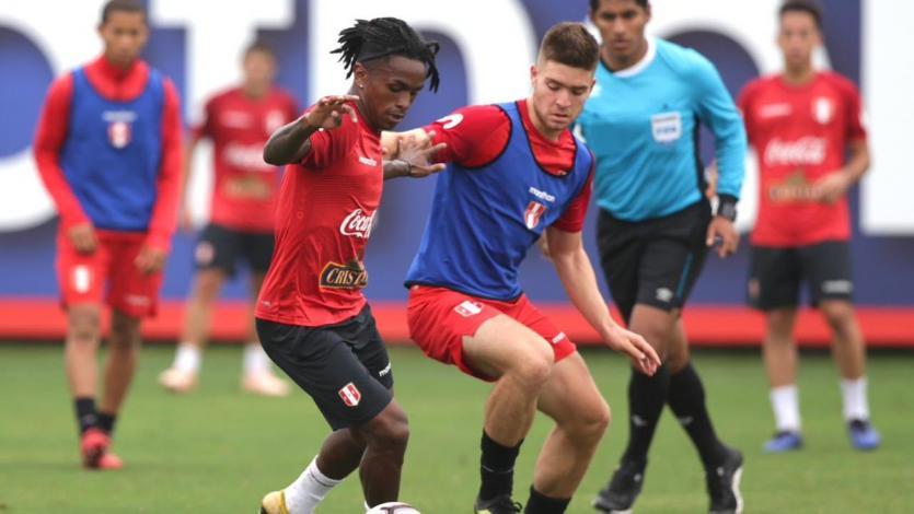 La selección peruana entrenó con miras al partido ante Costa Rica