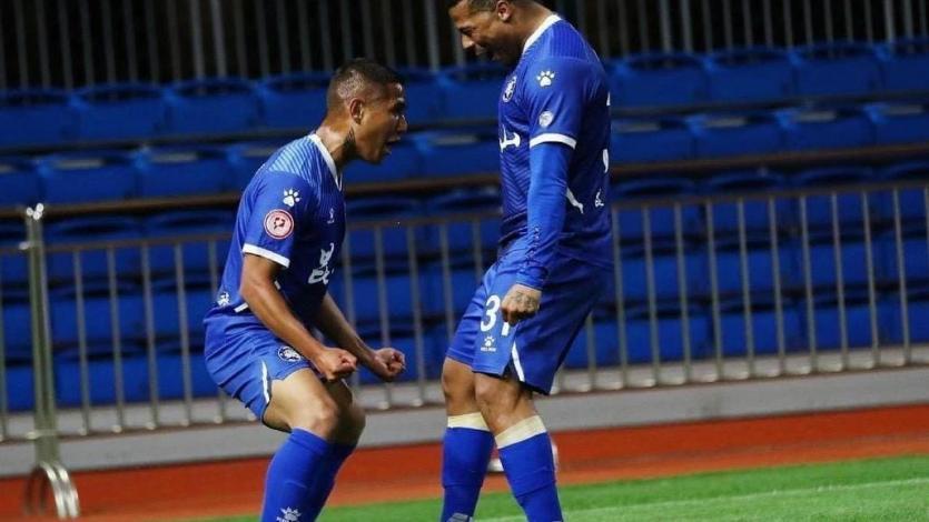 Roberto Siucho anotó su primer gol de la temporada en la China League One (VIDEO)